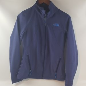 The north face women's small purple blue windwall